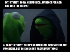 intj atheist, mbti meme, intj atheist meme,
